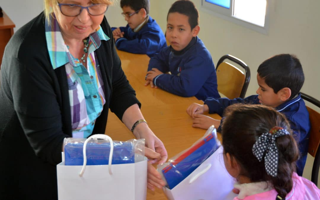 Material support for visually impaired students in Morocco (2012 – 2015)