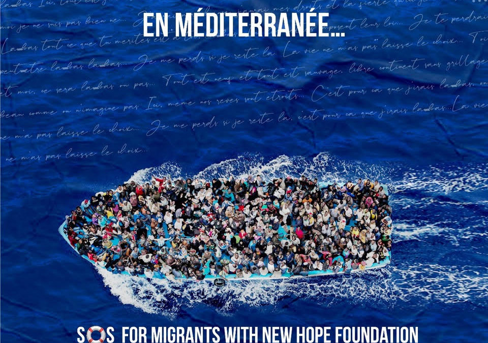 SOS for migrants with New Hope Foundation Belgium International.